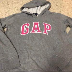 Gap xs gray juniors hoodie